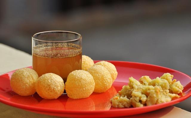 Panipuri, Gupchup, Indian Food, Golgpa, Fast Food Junk