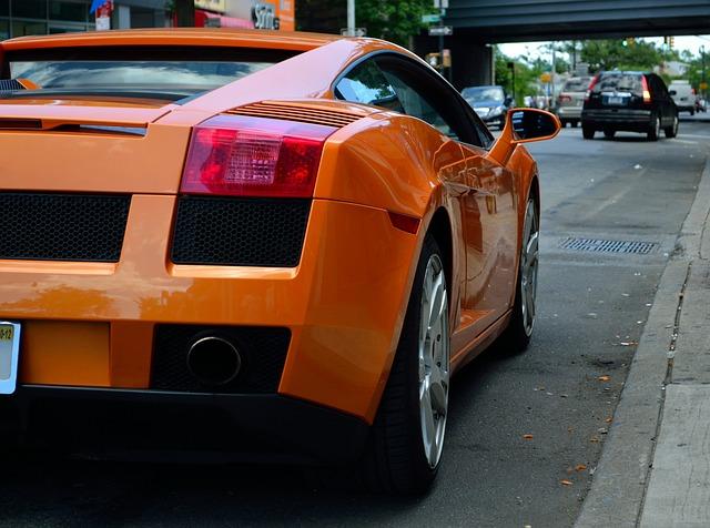 Lamborghini, Fast Cars, Orange, Car, Modern, Fast