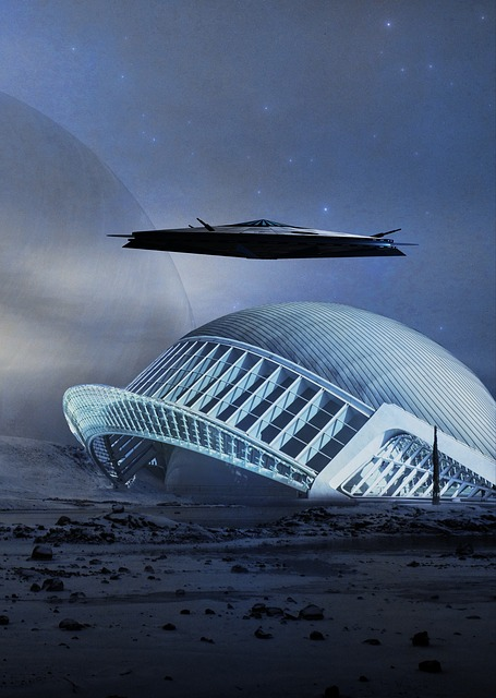 Science Fiction, Cover, Fast Space Cruiser