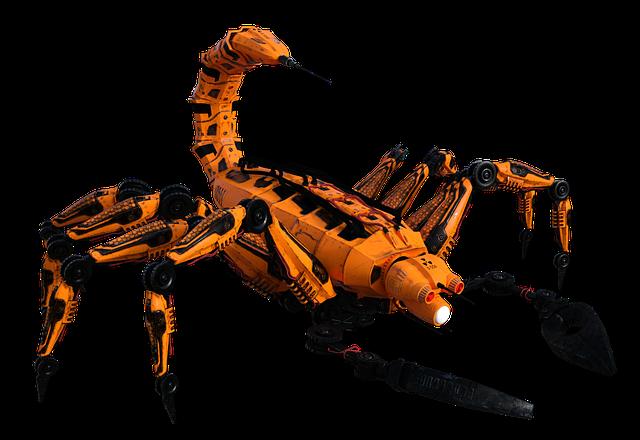 Scorpio, Arachnid, Gliederfüsser, Fatal, Mechanics