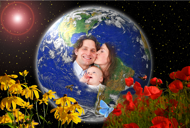 Earth, Blue Planet, Globe, Gaia, Mother Earth, Father