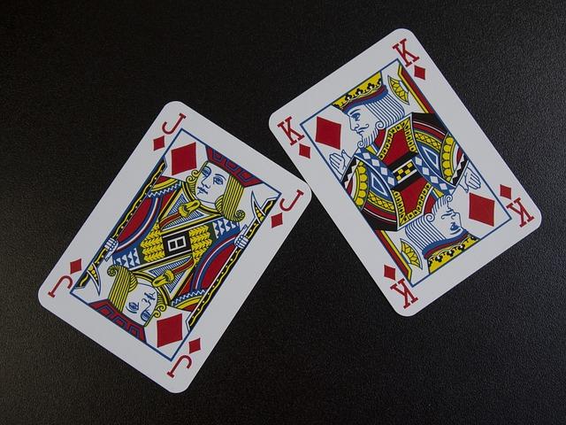 Playing Cards, Diamonds, Jack, King, Prince, Father