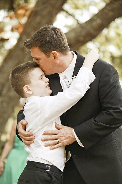 Groom, Father, Autism, Son, Wedding, Parent, Happy