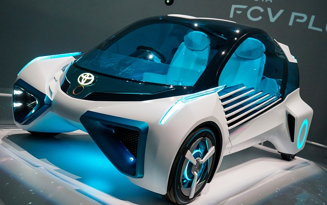 Toyota, Fcv Plus, Concept Car, 2016