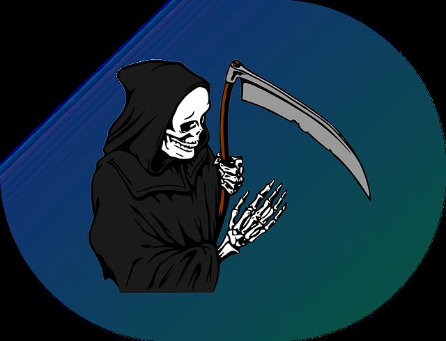 Reaper, Grim, Death, Scythe, Dead, Horror, Fear, Skull