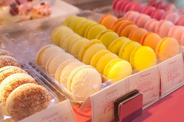 Sweet, Sweets, Food, Feast, Macarons, Colors, Good