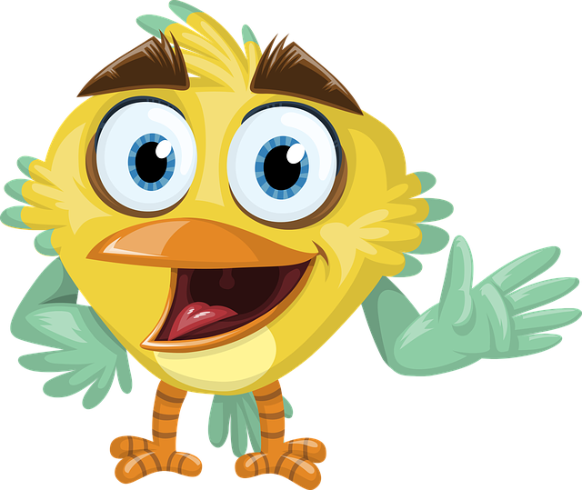 Bird, Feather, Beak, Welcome, Hello, Happy, Smile