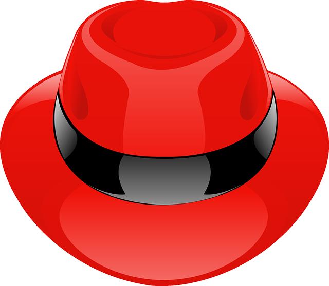 Hat, Red, Fedora