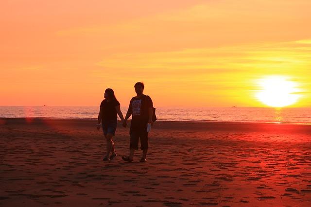 The Evening Sun, Sand Beach, Feeling Very Much