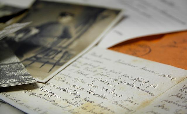 Feldpost, World War I, Letters, Sütterlin, Handwriting