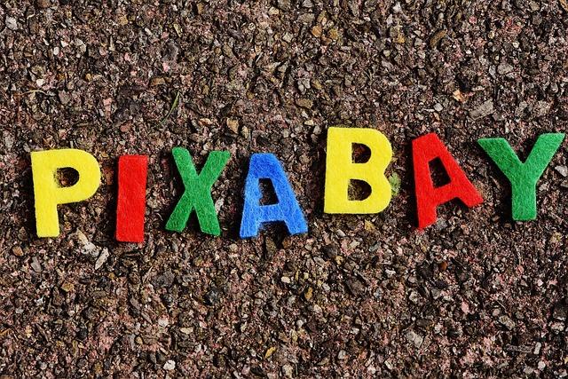 Pixabay, Image Database, Letters, Colorful, Felt