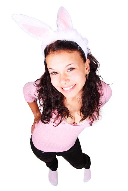 Bunny, Costume, Cute, Ears, Fashion, Female, Fun, Girl