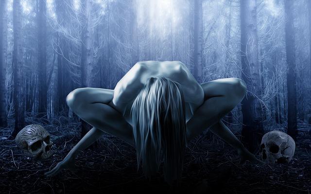 Gothic, Fantasy, Dark, Ritual, Witch, Female, Woman