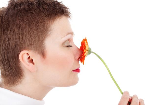 Adult, Beauty, Face, Female, Flower, Fresh, Girl