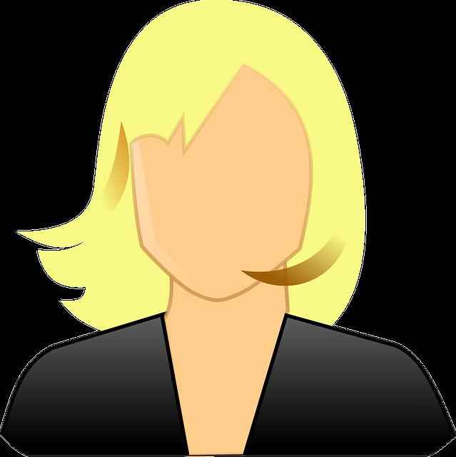 User, Avatar, Female, Blond, Girl, Woman, Lady