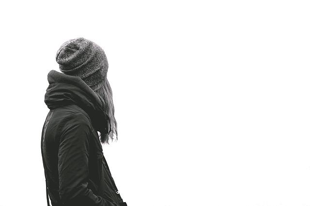 Facing Away, Female, Girl, Jacket, Person, Woman