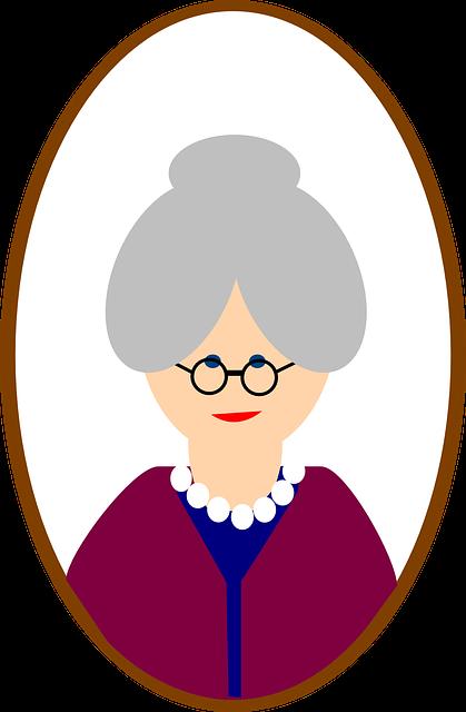 Old, Female, Woman, Face, Person, Grandma, Senior