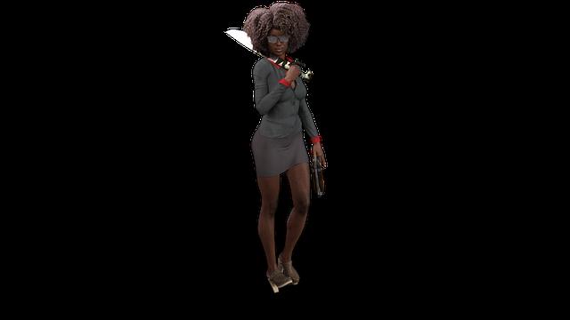 Female, 3d Character, Comic, Model