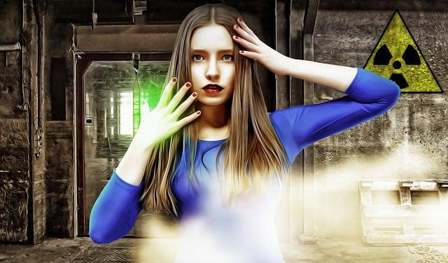 Radioactive Leak, Woman, Female, Young, Radioactivity