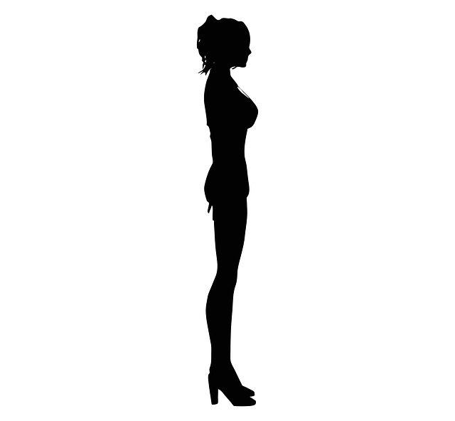 Woman, Female, Silhouette, Young, Girl, People, Person