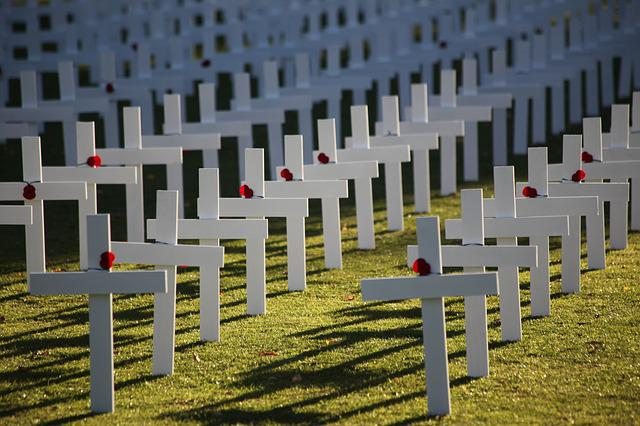 Cemetery, Outdoors, Fence, Architecture, War