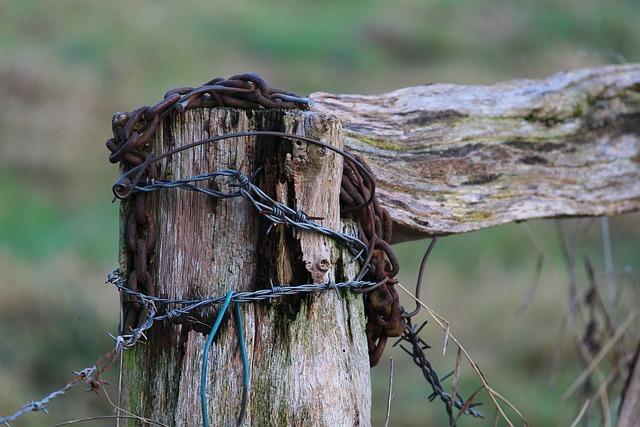 Old, Fence, Weathered, Goal Post, Input, Door, Bar