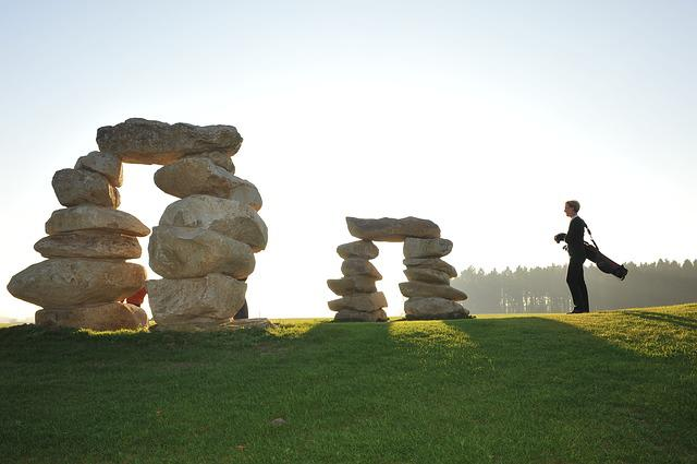Golf, Feng-shui-golf, Panorama Golf, Golfers