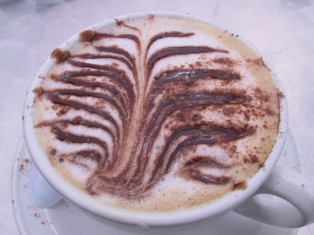 Coffee, Cafe, Cappuccino, Melange, Chocolate, Fern