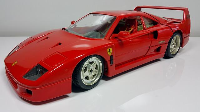 Ferrari, Auto, Red, Sports Car, Model Car