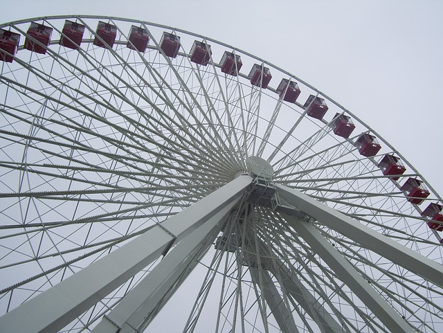 Wheel, Amusement Park, Ferris
