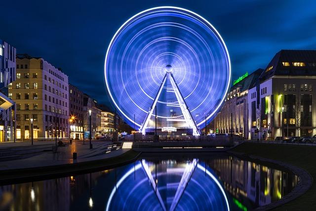 Ferris Wheel, Christmas, Düsseldorf