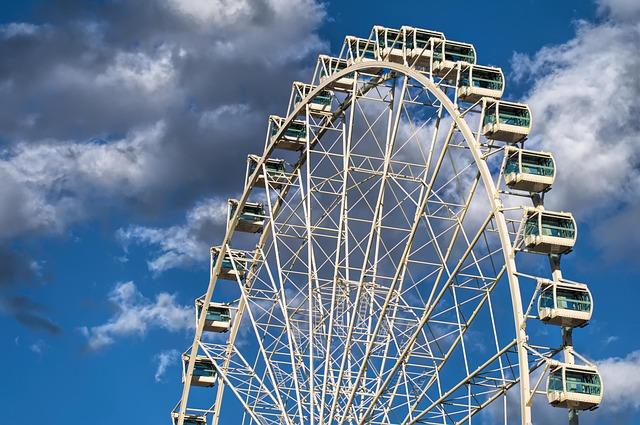 Entertainment, Ferris Wheel, Carnival, Carousel