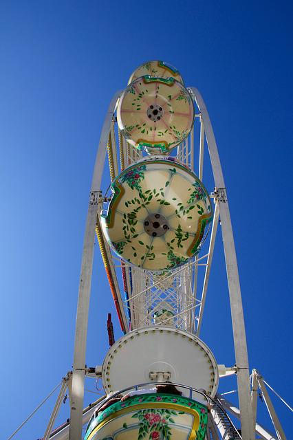 Ferris Wheel, Fair, Folk Festival, Year Market, Rides