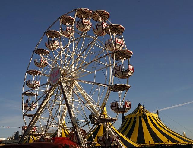 Ferris Wheel, Kassel, Friedrichsplatz, Carousel
