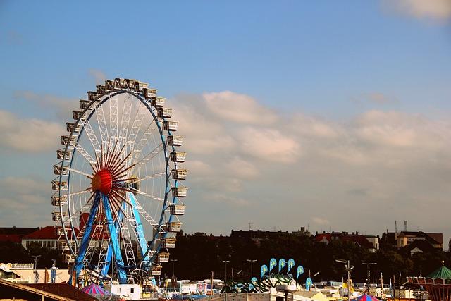 Carnival, Fair, Festival, Sky, Travel, Ferris Wheel