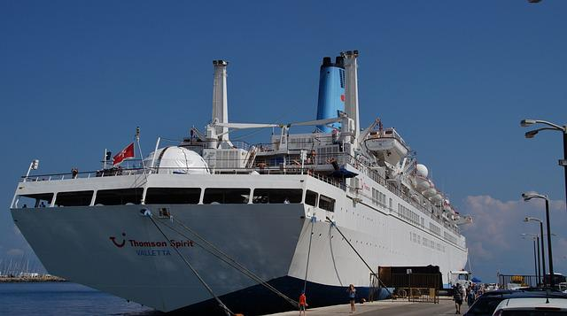Ship, Ferry, Port, Shipping