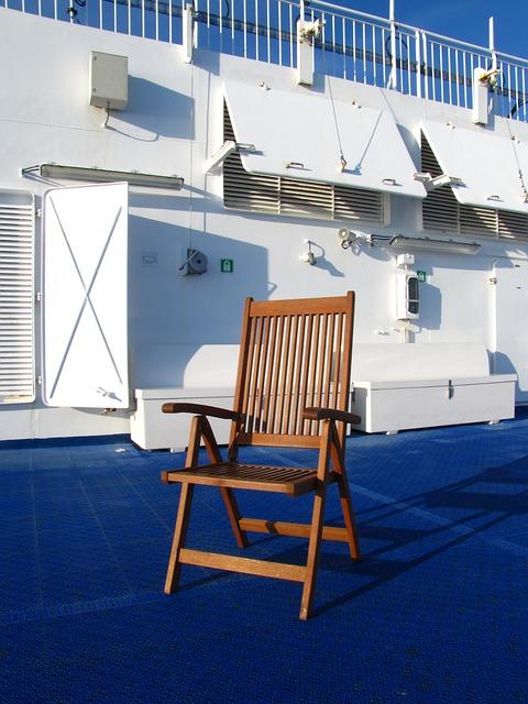 Ferry, Norröna, Sun Deck, Chair, Smyril Line