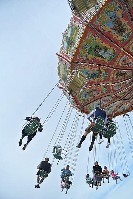 Kettenkarusell, Carousel, Oktoberfest, Festival