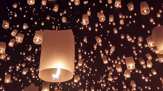 Chiang Mai, Day Light, Festival, Clifford, Loy Krathong