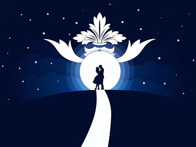 Moon, Vector, Festival, Night, Star, Illumination