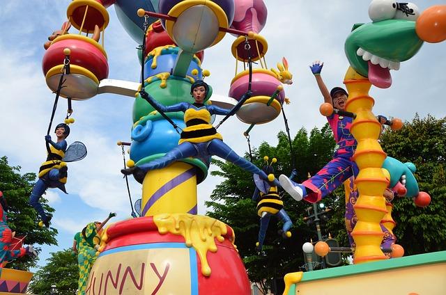 Parade, The Procession, Festival, Disney Land