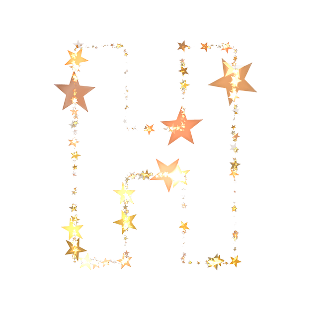 Letters, Abc, Star, Christmas, Festive, Decoration