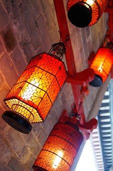 Lantern, Red Lantern, Festive