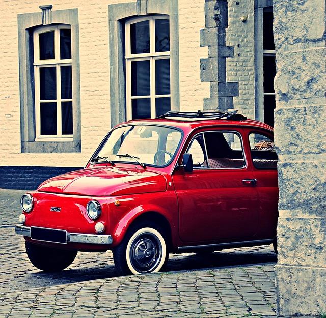 Fiat, Fiat 500, Oldtimer, Classic, Nostalgia, Nostalgic