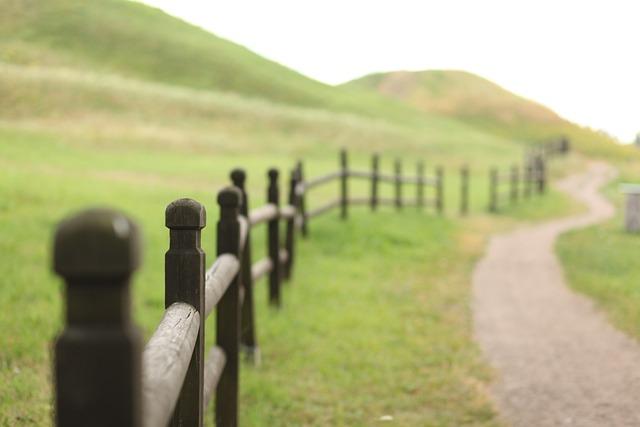 Landscape, Field, Fence, Wood, Green, Nature, Fields