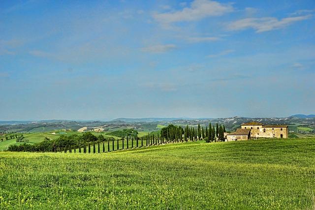 Agriculture, Nature, Panorama, Sky, Field, Idyllic