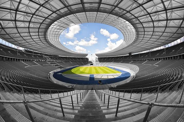 Stadium, Olympic Stadium, Structure, Field, Sport
