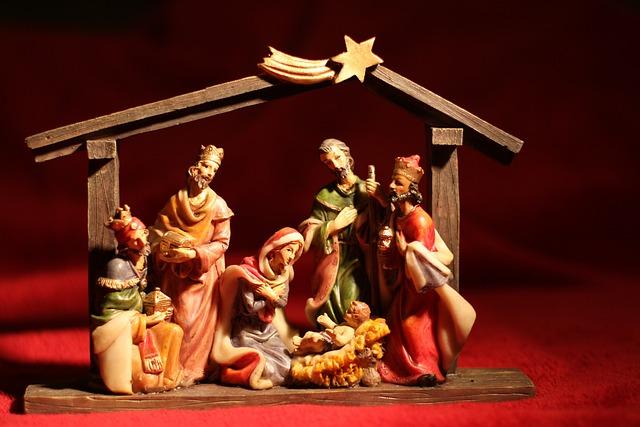 Christmas, Deco, Decoration, Fig, Church, Faith, Red