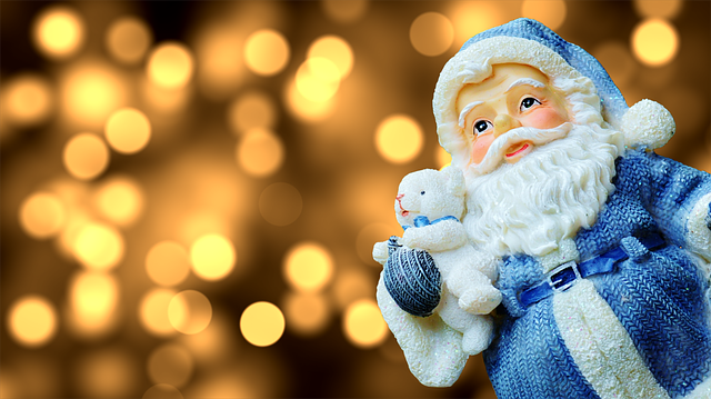 Christmas, Santa Claus, Fig, Decoration, Nicholas