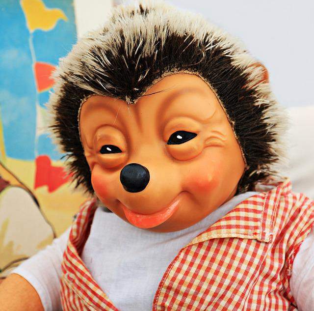 Mecki, Hedgehog, Toys, Doll, Fig, Fictitious